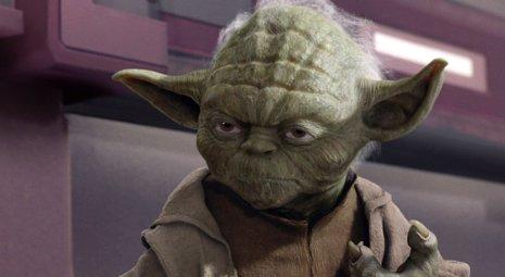 El maestro Yoda de Star Wars (La guerra de las galaxias)