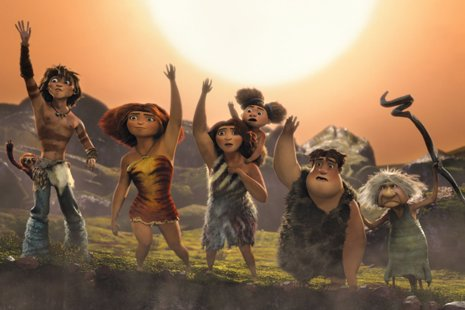 Los Croods De  Dreamworks Animation