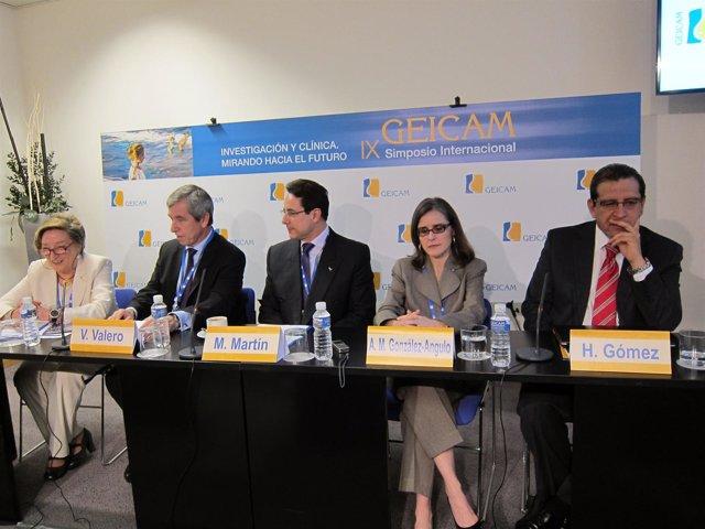 Presentación del IX Simposio Internacional del GEICAM