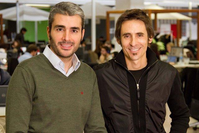 José Manuel Villanueva y Lucas Carné (Privalia)