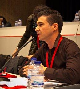 El diputado de IU en la Asamblea de Madrid Rubén Bejarano