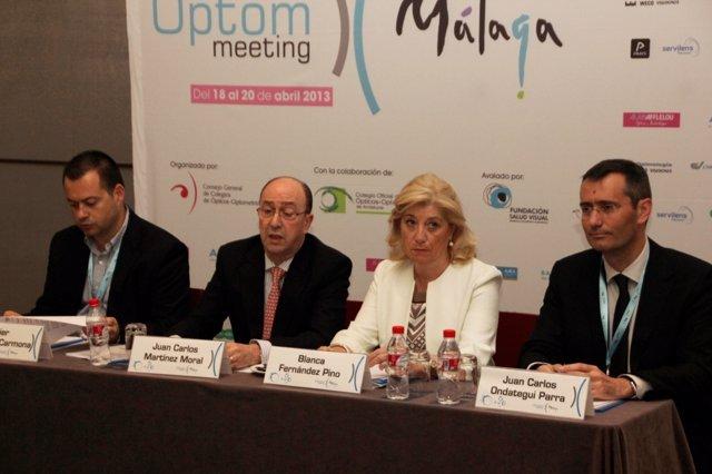 Rueda de prensa de los ópticos en el 'OPTOM MEETING MÁLAGA'