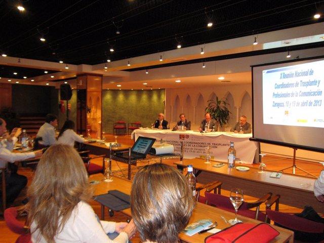 Matesanz ha inaugurado X Reunión de Coordinadores de Trasplantes y periodistas