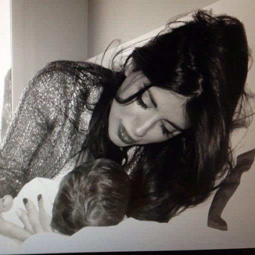 Daniella Semaan y su hija Lia