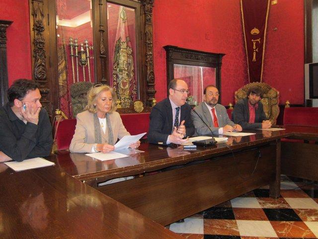 Presentación del Festival Internacional de Poesía de Granada