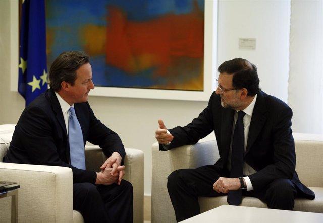Mariano Rajoy y David Cameron
