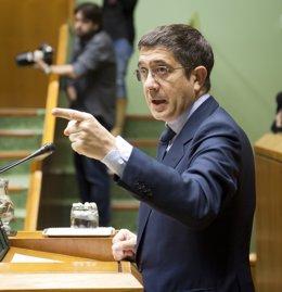 Patxi López, En El Parlamento Vasco