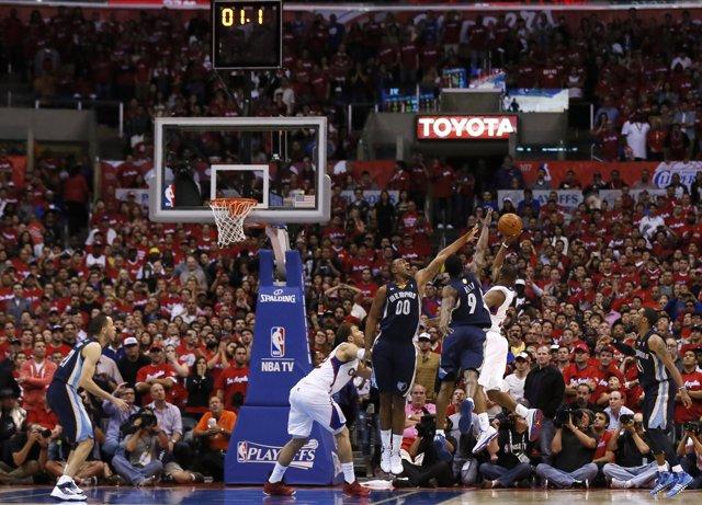 Chris Paul anota en el Clippers - Memphis Grizzlies