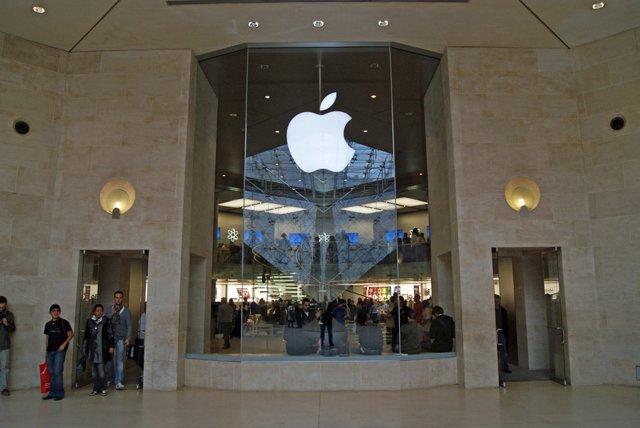 Tienda Apple en París