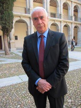 El consejero andaluz de Cultura, Luciano Alonso, en el Premio Cervantes