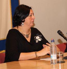 La vicealcaldesa de Fuenlabrada, de IU, Teresa Fernández