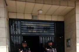 La Policía registra el piso del presunto terrorista islamista en el barrio del Carmen de Murcia