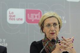 Rosa Díez acusa a Rajoy de incumplir incluso su propio compromiso de publicar las cuentas del PP