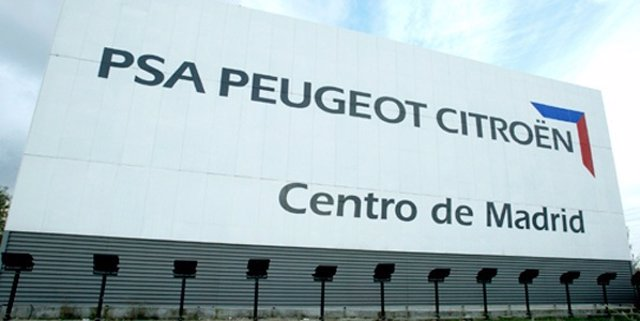 Centro de PSA Peugeot-Citroën en Madrid