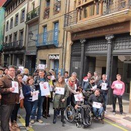 Manifestación de apoyo a la Procuradora General