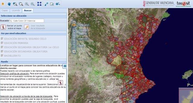 La herramienat Geoescola ya está disponible en internet