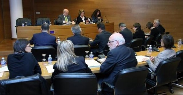 Comisión de Infraestructuras en las Corts