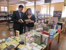 Pérez Pastor, en la biblioteca