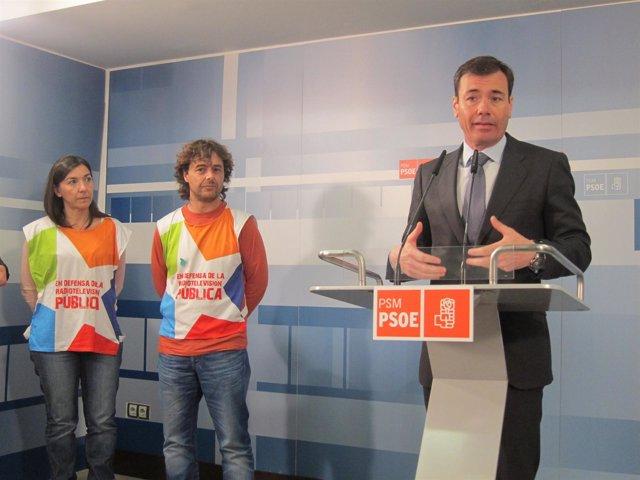 El secretario general de los socialistas madrileños, Tomás Gómez