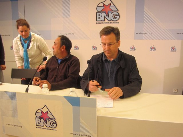 El portavoz nacional del BNG, Xavier Vence