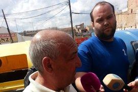 Hassan El Jaaouani ha tirado paquetes por el balcón de su casa cuando apareció la Policía, según los vecinos