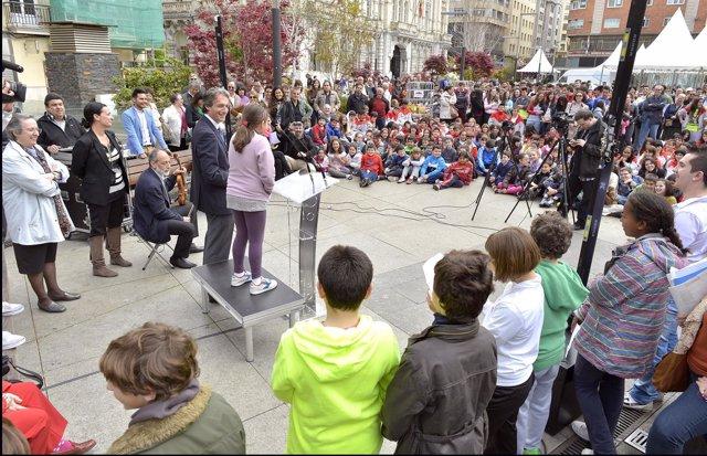 Actos del Día del Libro en Santander