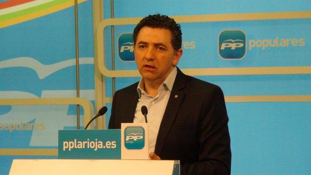 Carlos Cuevas, secretario general del PP riojano