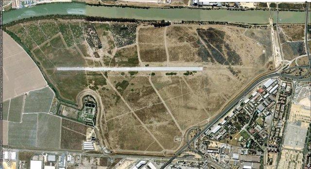 Vista aérea de Tablada.