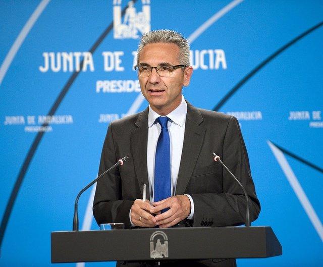 Miguel Ángel Vázquez, hoy en rueda de prensa