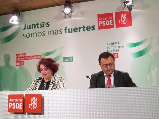 Teresa Jiménez y Miguel Ángel Heredia