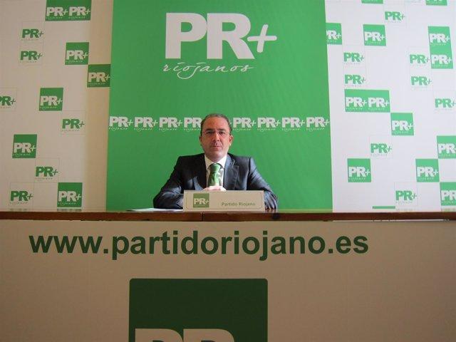 El diputado de PR+ riojanos Rubén Gil Trincado