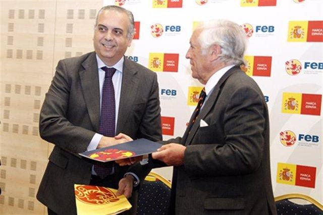 José Luis Sáez y Carlos Espinosa de los Monteros