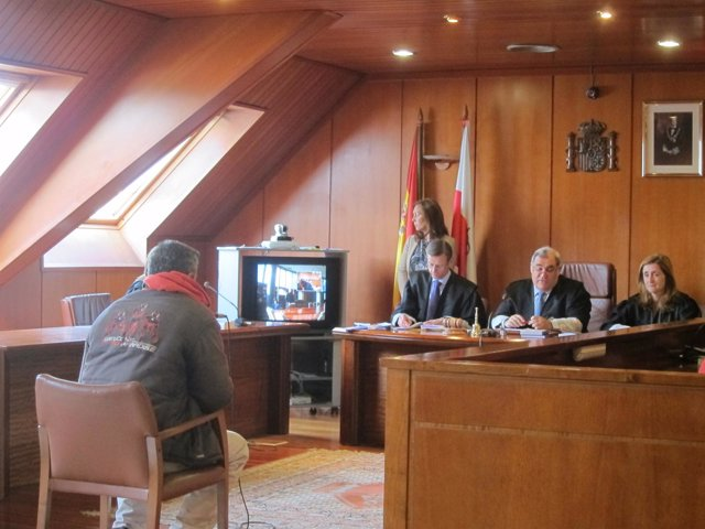Imagen del acusado en el juicio