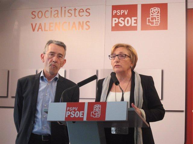 Ana Barceló junto a Antonio Torres
