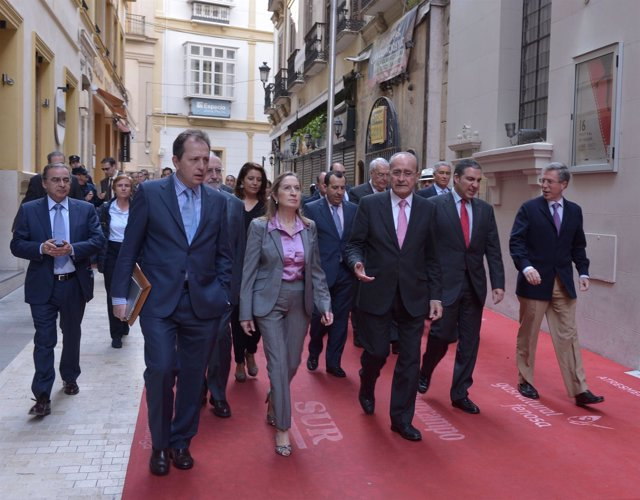 La ministra de Fomento asiste a la XIV reunión del Club Málaga Valley