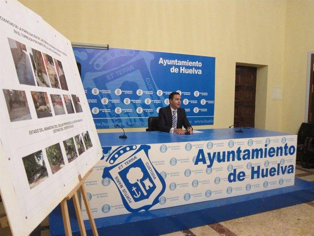El concejal del PP Felipe Arias habla sobre el estado de El Torrejón.