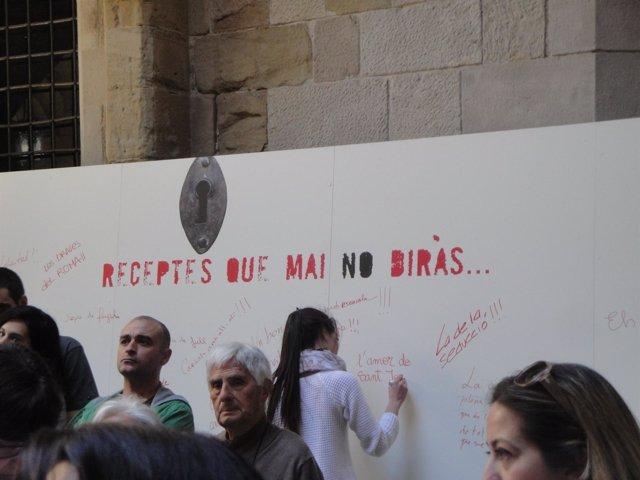 El IEI recoge recetas en Lleida