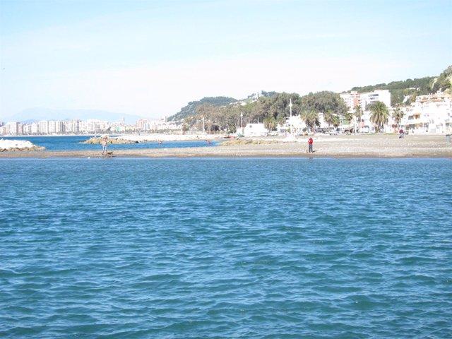 Playa En Málaga Capital Turismo