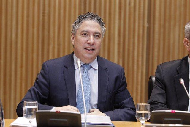El secretario de Estado de Seguridad Social, Tomás Burgo