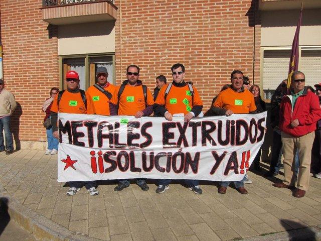 Trabajadores de Metales Extruidos en Villalar