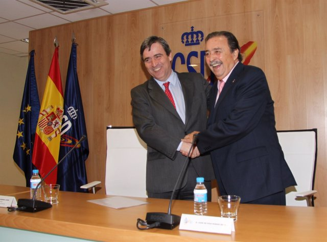 Miguel Cardenal y Juan de Dios Román