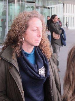 La mujer que perdió un ojo el 14N, Ester Quintana
