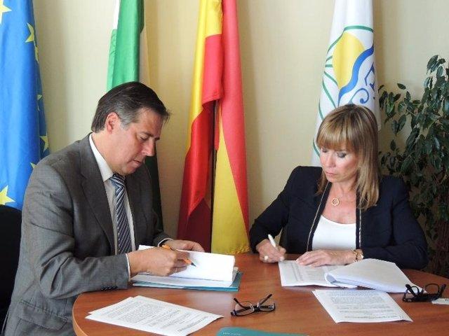Acuerdo entre Aehcos y Xanit Internacional