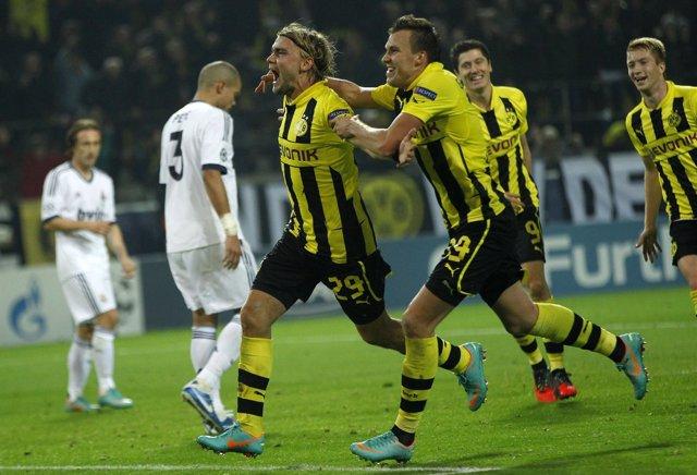 El Real Madrid cae ante el Borussia Dortmund