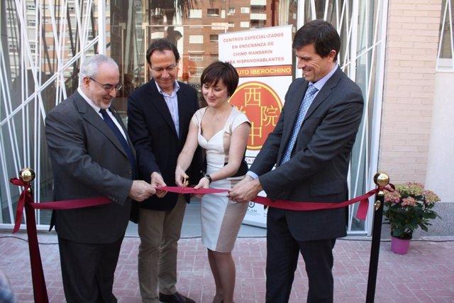 José Luis Mendoza, Miguel Ángel Cámara, Eva María Rodríguez y Marco Vicario
