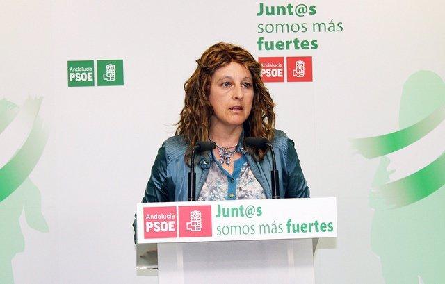 La parlamentaria andaluza Cinta Castillo.