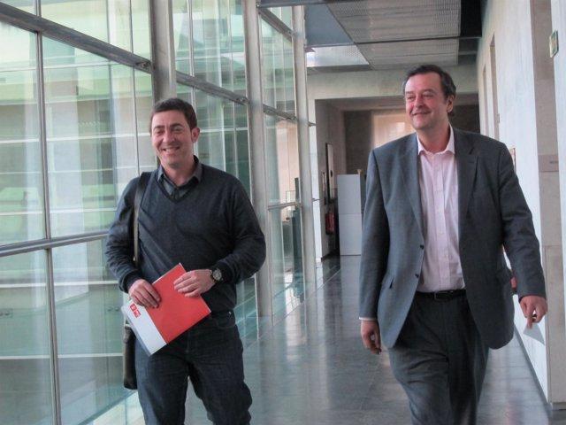 Roberto Jiménez y Juan José Lizarbe