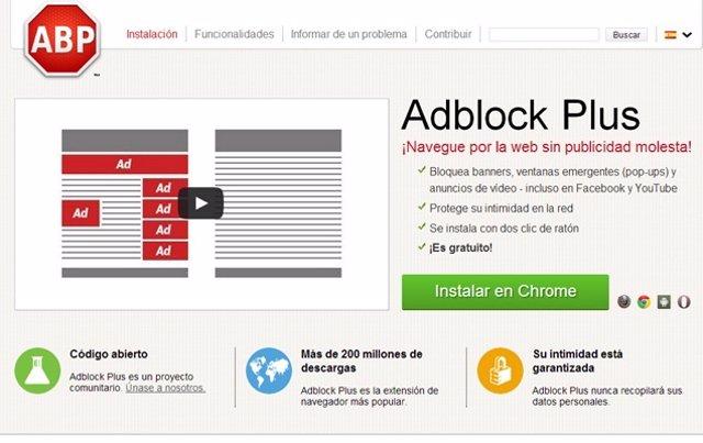Adblock Plus supera los 200 millones de descargas