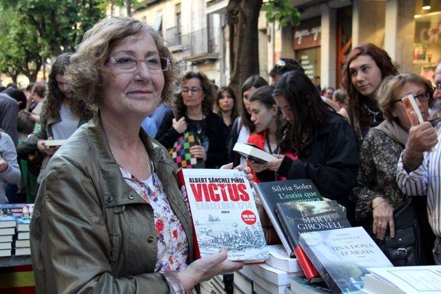 Presidenta del Gremi de Llibreters de Girona, Carme Ferrer