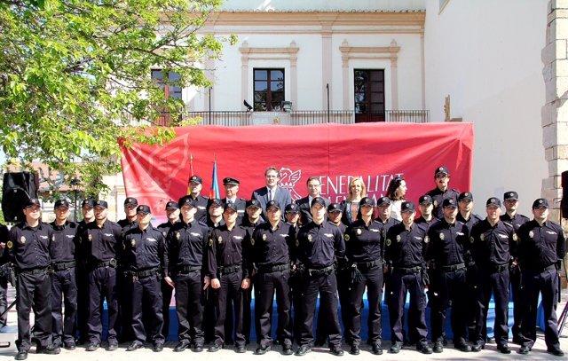 Castellón cuenta con 24 nuevos efectivos de la Policía de la Generalitat